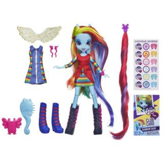 "Cute My Little Pony Rainbow Dash Equestria Girl Hasbro 9"" Doll Extra Outfit"