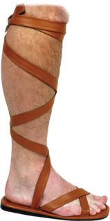 Shoe Roman Sandal Men sz12 13 Gladiator Medieval Knight Costume Sandalia Biblica
