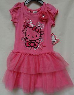 Hello Kitty Toddler Tutu Dress Girl 3T Pink HKT706883
