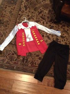 & Captain Feathersword The Wiggles Toddler Costume L K