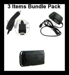 Mega Accessory Bundle Case Charger for Tracfone LG 800G