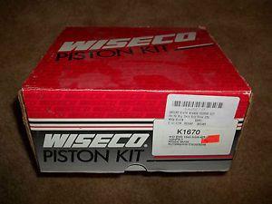 Wiseco Big Bore Piston Kit K1670 for Harley Davidson Evolution Engine