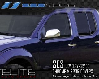2005 12 Nissan Pathfinder Ses Chrome Side Mirror Covers