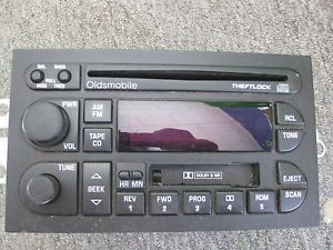 2000 Olds Alero Car Stereo Radio CD Player Cassette Player