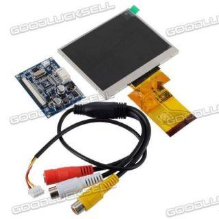 3 5 inch TFT LCD Car Rear View Digital Monitor DVD VCR 2CHS Video Gadgets L