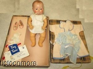 Vintage American Character Tiny Tears Baby Doll Clothes Box