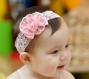 Hot Newborn Baby Girl Flower Headband Baby Flower Headband Infant Toddler Girl