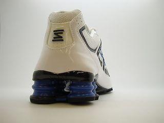 347521 115 Mens Nike Shox Turbo Mesh White Black Varsity Royal