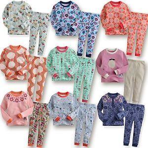 "Korea 2pcs Baby Toddler Kids Girl Clothes Sleepwear Pajama Set ""Mimir Girl"""