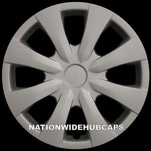 "Set of 4 Toyota Corolla 15"" New Full Wheel Covers Rim Hub Caps Free Shipping"