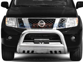 2005 2007 Nissan Pathfinder Bull Bar Grille Guard Front Bumper Protector Shield
