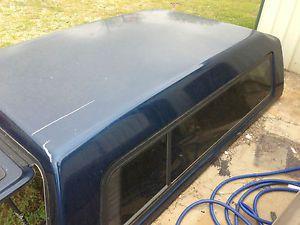 Chevrolet GMC Long Bed 8' A R E Truck Cap Pickup camper Shell w Walk Door