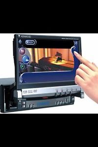 kenwood kvt 719dvd car dvd player kenwood excelon kvt 915dvd 7 inch car dvd player w brain and all the wires