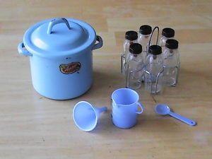 Vintage AMSCO Doll Evenflo Bottles Toy Enamel Sterilizer DY Dee Betsy Wetsy