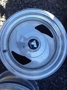 Set of 4 15 inch 6 Lug Chevy GMC Toyota Progressive Alloy Wheels Rims
