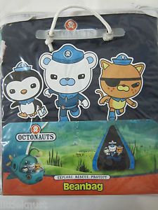 Octonauts Boy Licensed Bean Bag Beanbag Chair Cover Navy Blue Cotton Bninbag