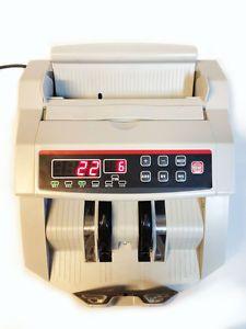 New Desktop Bill Money Currency Counter Cash Machine UV MG Counterfeit Detector
