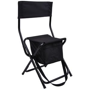 Portable Folding Chair 300Lbs Stool Seat F Ice Fishing Shelter House Shanty Tent
