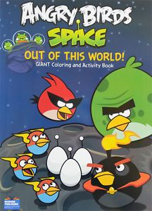 Angry Birds Space Coloring Book Free Crayons