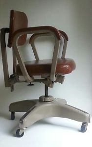 MCM Tower  Roebuck Co Industrial Chair Retro Streamline Tanker Desk Chair