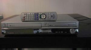 Panasonic HDD DVD Recorder DMR EH75V DVD VHS 80GB Remote Certified Tested