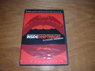 Inside Deep Throat DVD R Rated Documentary Hot Cinema Histoty Canada$9WORLD$12