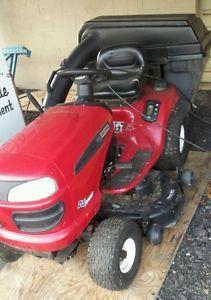 Craftsman DLT3000 Lawn Mower with Bagger Honda Engine