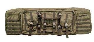 "Valken Tactical 36"" Double Rifle Airsoft Gun Case Dual Bag OD Green Brand New"