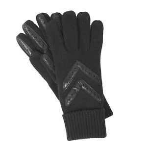 Isotoner Womens Stretch Knit Driving Gloves Black One Size
