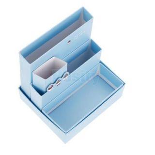 DIY Paper Board Storage Box Desk Decor Organizer Stationery Makeup Cosmetic Box