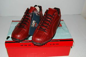 New Mens Piloti Sebring Driving Shoes Vintage Oxblood Burgundy Size 10