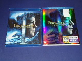 Percy Jackson Sea of Monsters Blu Ray DVD 2013 2 Disc Set 024543867753
