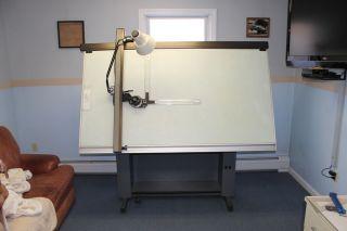 Hamilton Drafting Table w Mutoh Drafting Machine