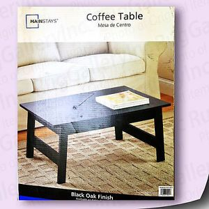Mainstays 412304 Coffee Table Home Decor Furniture Living Room Kitchen Office
