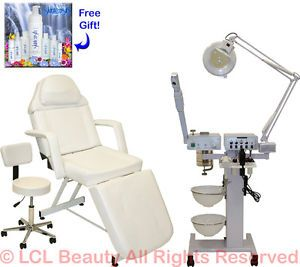 9 in 1 Facial Machine Stationary Massage Table Chair Spa Beauty Salon Equipment