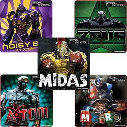 15 Real Steel Movie Stickers Kids Robot Birthday Party Goody Bag Favors Supply