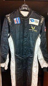 Sparco Profi x 5 R516 Nomex Racing Pit Crew Dual Layer Fire Suit Sz 62 XL