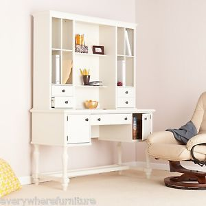 White lacquer office furniture on popscreen - Antique white home office furniture ...
