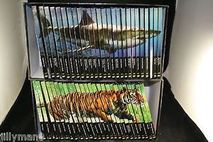 Natural Killers Predators Close Up Lot 52 PC Collection DVD Book Display Case