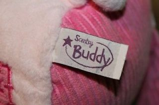 """Scentsy Buddy 15"""" Plush Toy Doll Pink Penny The Pig"""