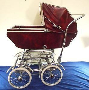 Vintage Wonda Chair Convertible Baby Buggy Bassinet Full Size Good Condition