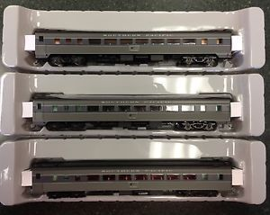 Athearn HO Scale Southern Pacific Pullman Chair Cars Passenger Cars