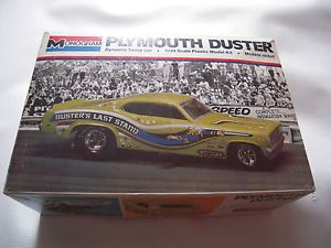 Vintage Monogram Plymouth Duster Model Kit 1975 Duster's Last Stand Funny Car