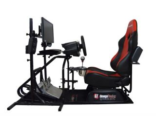 GT Omega Racing Simulator Pro Gaming Seat Chair Logitech G25 G27 T500RS