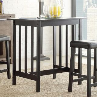 Nova Modern Black 3 Piece Wood Dining Room Furniture Chair Table Stool Set New