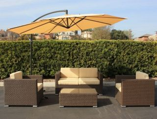 New Outdoor Wicker Patio Furniture Sofa Set Sectional Chair Dining Coffee Table