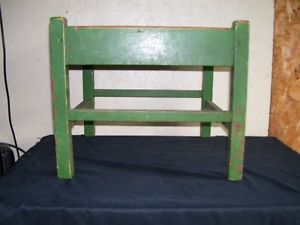 Very RARE Grand Rapids Bookcase and Chair Foot Rest Arts Crafts Mission Style