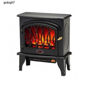 Infrared Fireplace Stove Electric Portable Space Room Heater Office Furniture