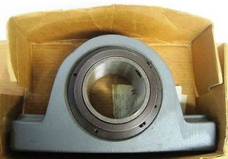 "Link Belt Spherical Roller Bearing Cast Iron Pillow Block 3 7 16"" PB22455H"