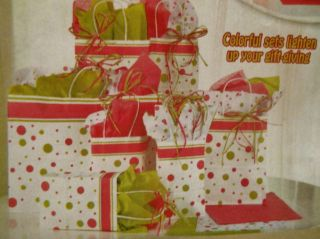 Paper Gift Bags 41 PC Tissue Party Wrapping Birthdays New
